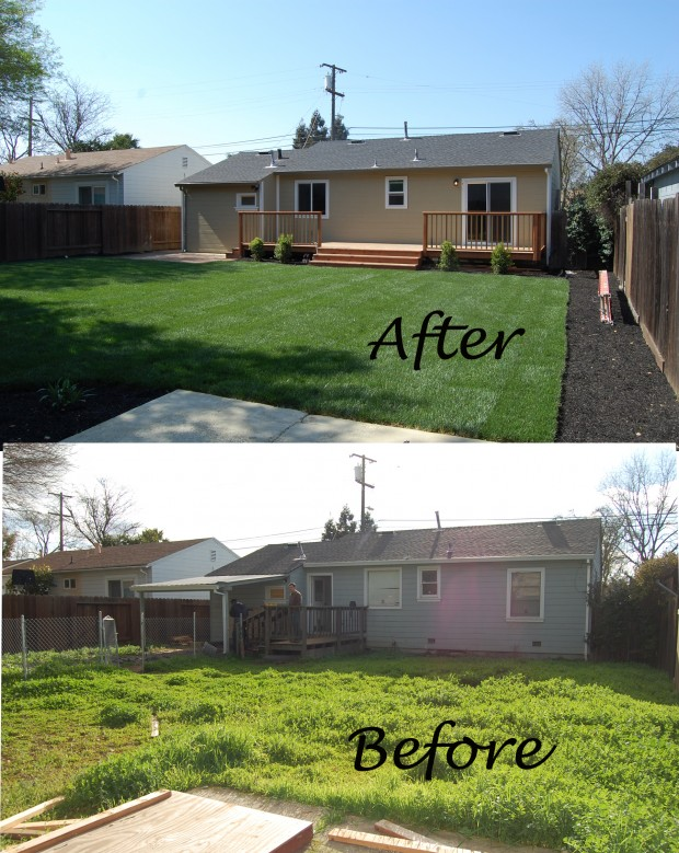 Concord Bungalow Before and After